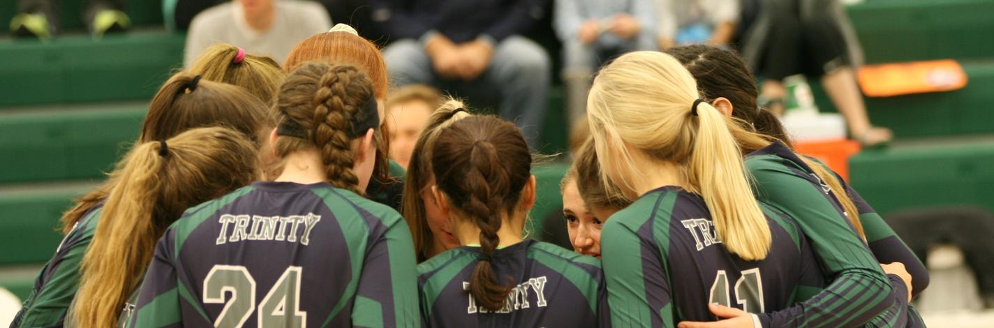 2015 Varsity Volleyball Huddle